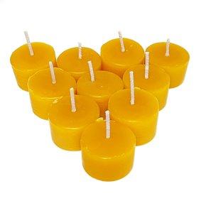 Natural Beeswax Tea Light Candle