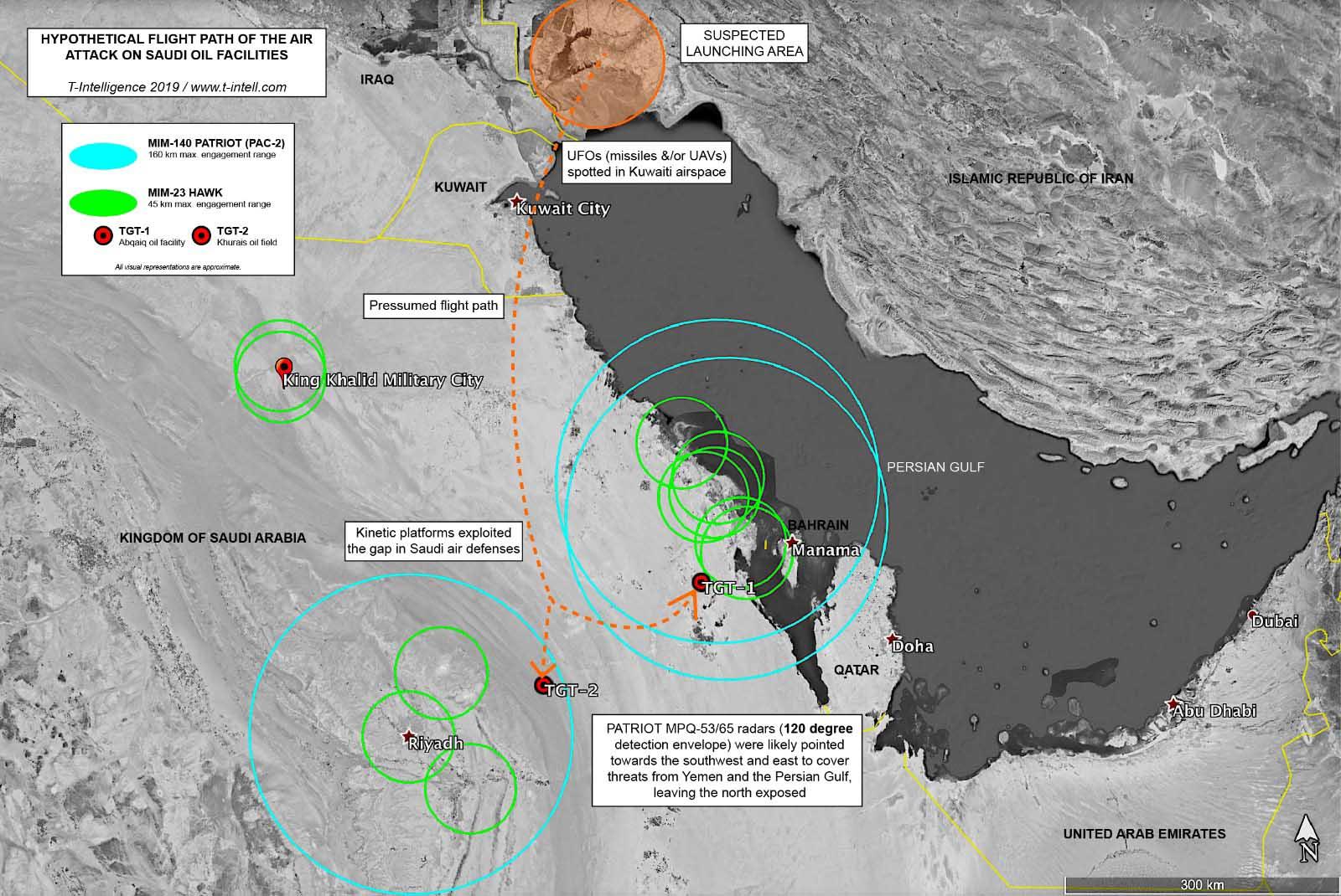 aramco drone saldırısı haritası