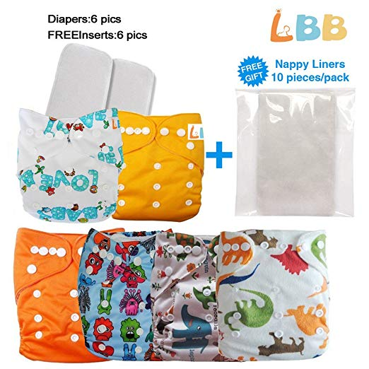 Reusable Baby Cloth Pocket Diapers