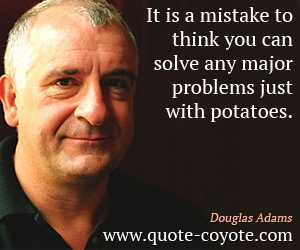 Solve Any Major Problem with Just Potatoes