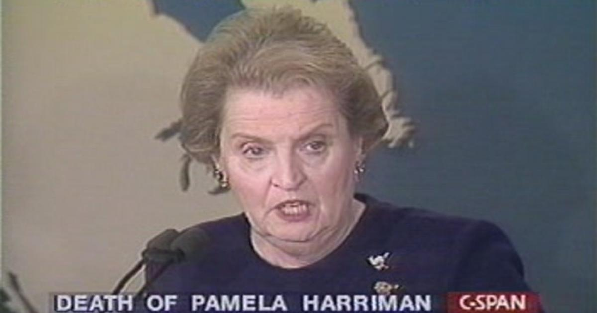 would rather have bad things written a by Pamela Harriman Like
