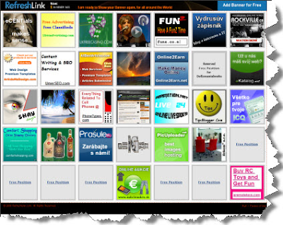 Free Banner Advertising on a PR4 Site - Submit Yours Now!!