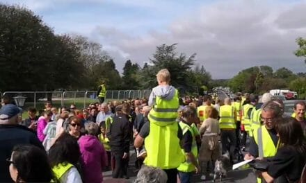1500 join silent protest in Oughterard against imposition of Direct Provision Centre