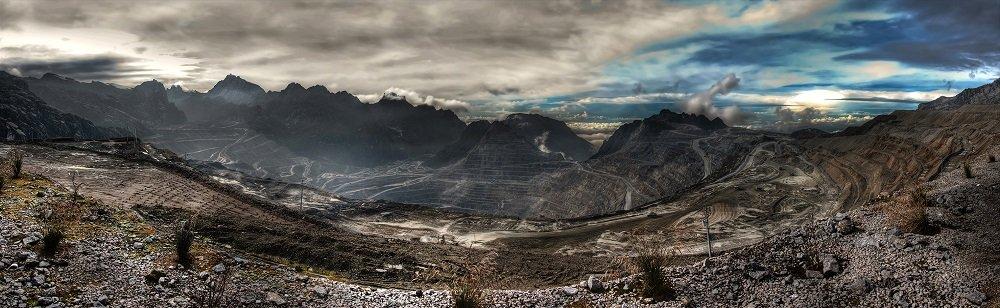 Grasberg Mine Papua Indonesia