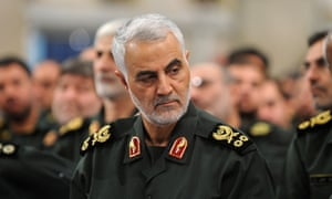 Qassem Suleimani, who was killed in the strike.