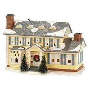 Dept 56 Christmas Vacation Snow Village The Griswold Holiday House 300