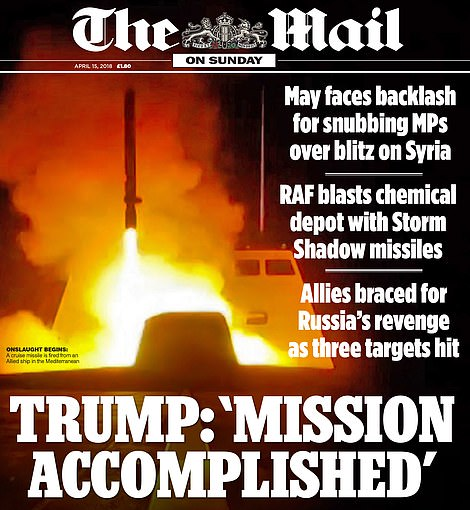 Shock: How we reported the blitz launched by Western allies