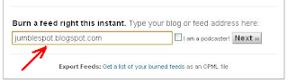 How to Add Feedburner Email Subscription Widget to your Blog 2