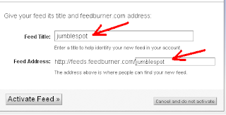 How to Add Feedburner Email Subscription Widget to your Blog 4