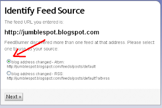 How to Add Feedburner Email Subscription Widget to your Blog 3