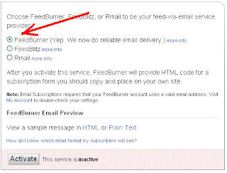 How to Add Feedburner Email Subscription Widget to your Blog 9