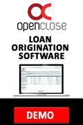 OpenClose loan origination software