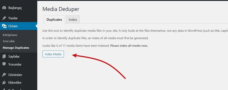 WordPress Kullanılmayan Resimleri Silmek