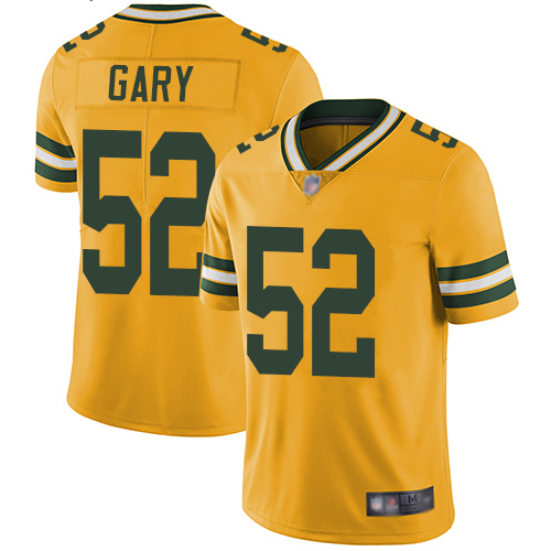 Women's Muhammad Wilkerson Gold Limited Football Jersey: Green Bay Packers #96 Rush Vapor Untouchable  Jersey