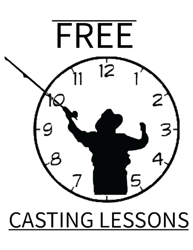 Free fly fishing casting lessons dubois wyoming
