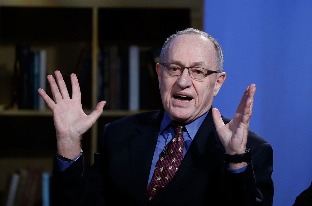 Alan Dershowitz in New York City. (Photo by John Lamparski/Getty Images for Hulu)