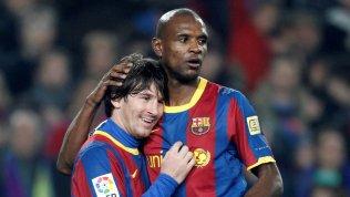 Lionel Messi e Eric Abidal