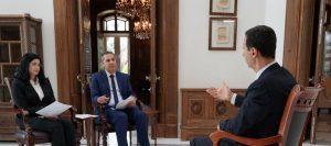 الحوار الكامل للسيد الرئيس بشار الأسد على قناة الإخبارية السورية و الفضائية