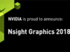 NVIDIA Announces Nsight Graphics 2018.5