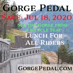 Gorge Pedal is July 18th