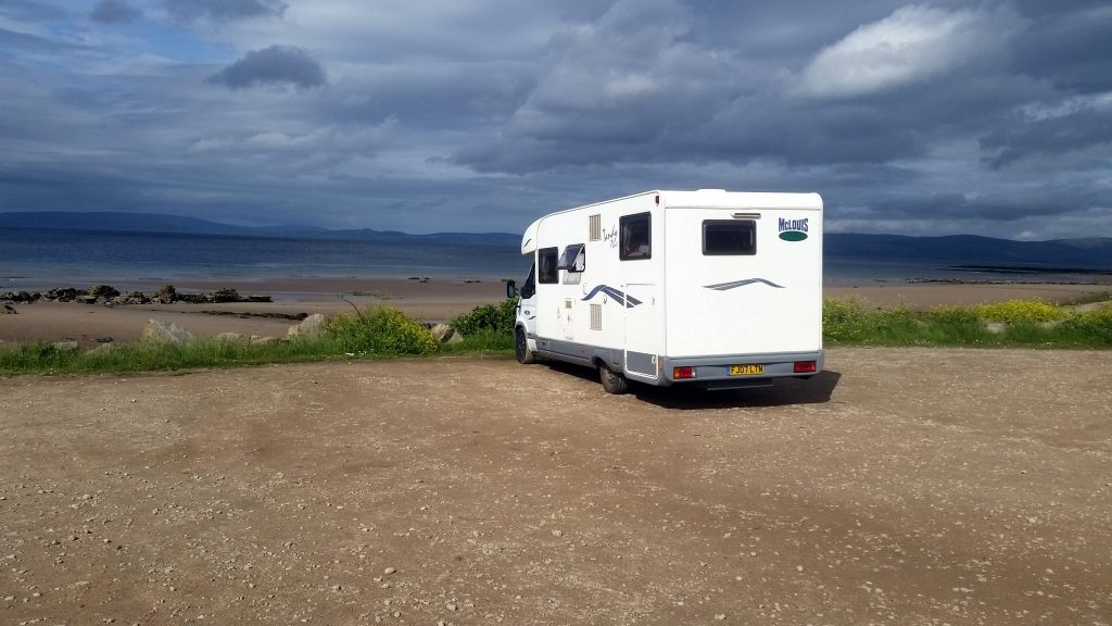 Wildcamping at Blackwaterfoot, Arran