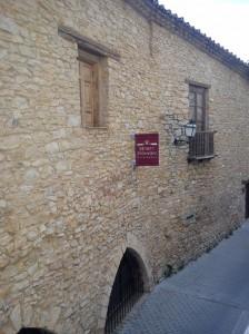 Casa rural en Vilafranca (Castellón). Museo de la Pedra en Sec