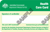 Health Care Card 2013