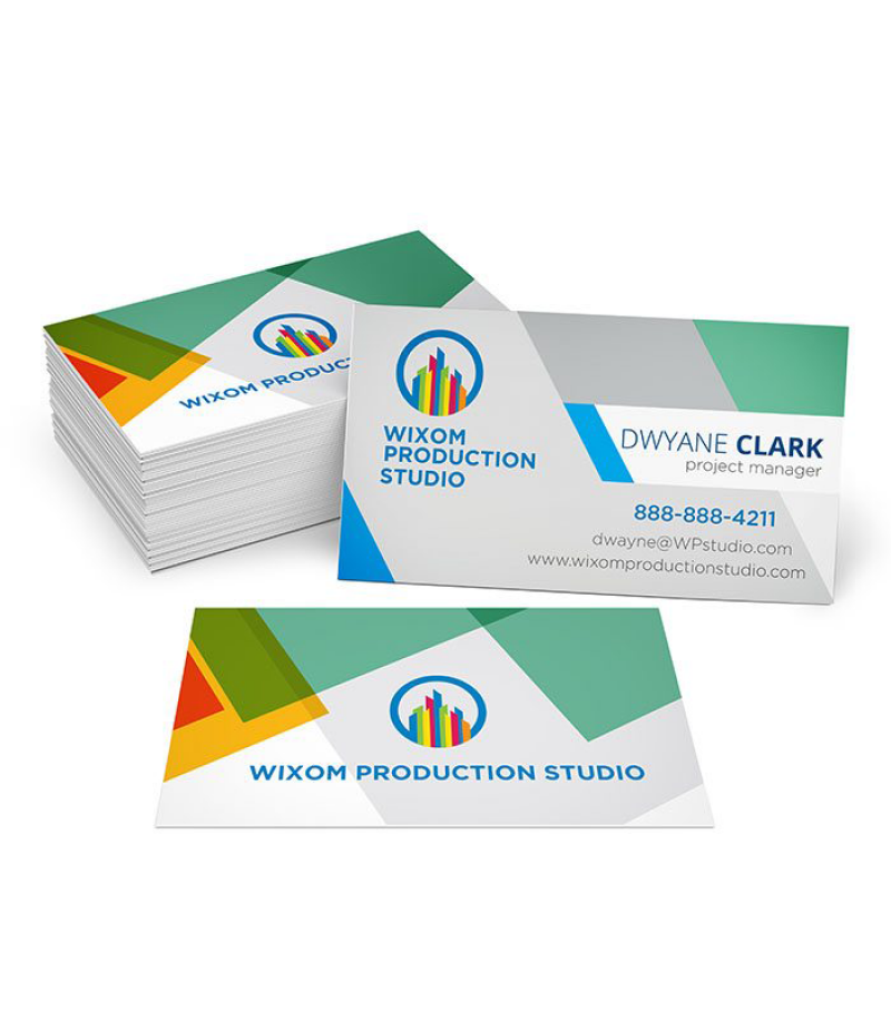 Business Cards -  Full Color Print - 16 PTS - Gloss UV - Quantity: 1000 units - Double Side