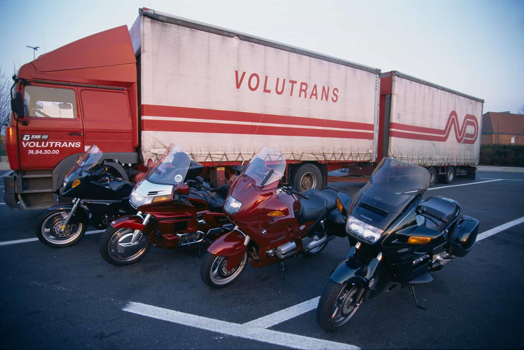 The GL1500 sits alongside its rivals on an MCN road test