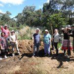 chestnut farm compost students WWOOFers team