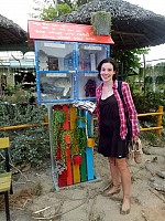 Volunteer Travel to Vietnam: Promoting a green message with recycled treasures
