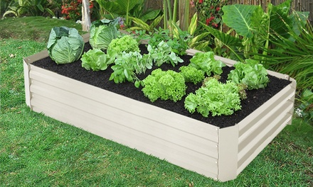 $54 for an Outdoor Galvanised Garden Planter Bed