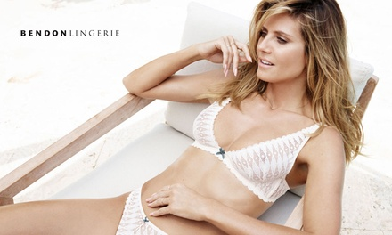 $30 for $50 Online Credit to spend at Bendon Lingerie + Free Delivery