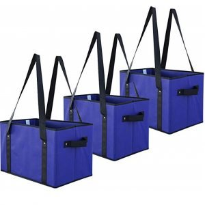 Earthwise Deluxe Collapsible Reusable Shopping Box