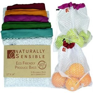 Reusable Produce Bags By Naturally Sensible