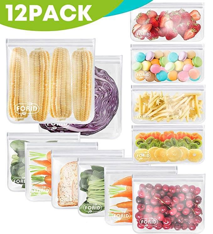 FORID Reusable Storage Sandwich Bag