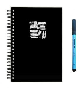 Scrubby Reusable Whiteboard Notebook