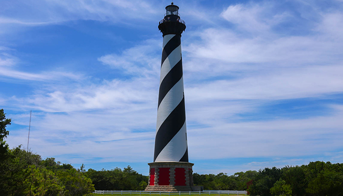 cape hatteras lighthouse - obx lighthouses