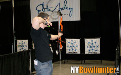 Marc from NYBowhunter.com takes aim with the 2011 Elite Tour