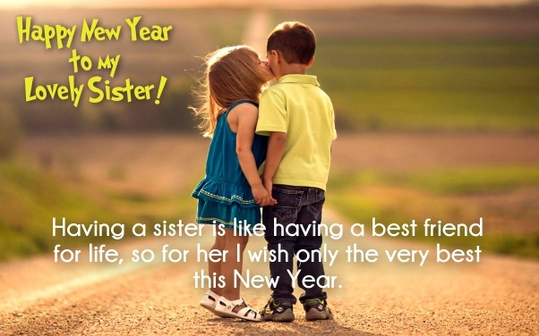 Happy New Year 2021 Quotes for Sister & Brother