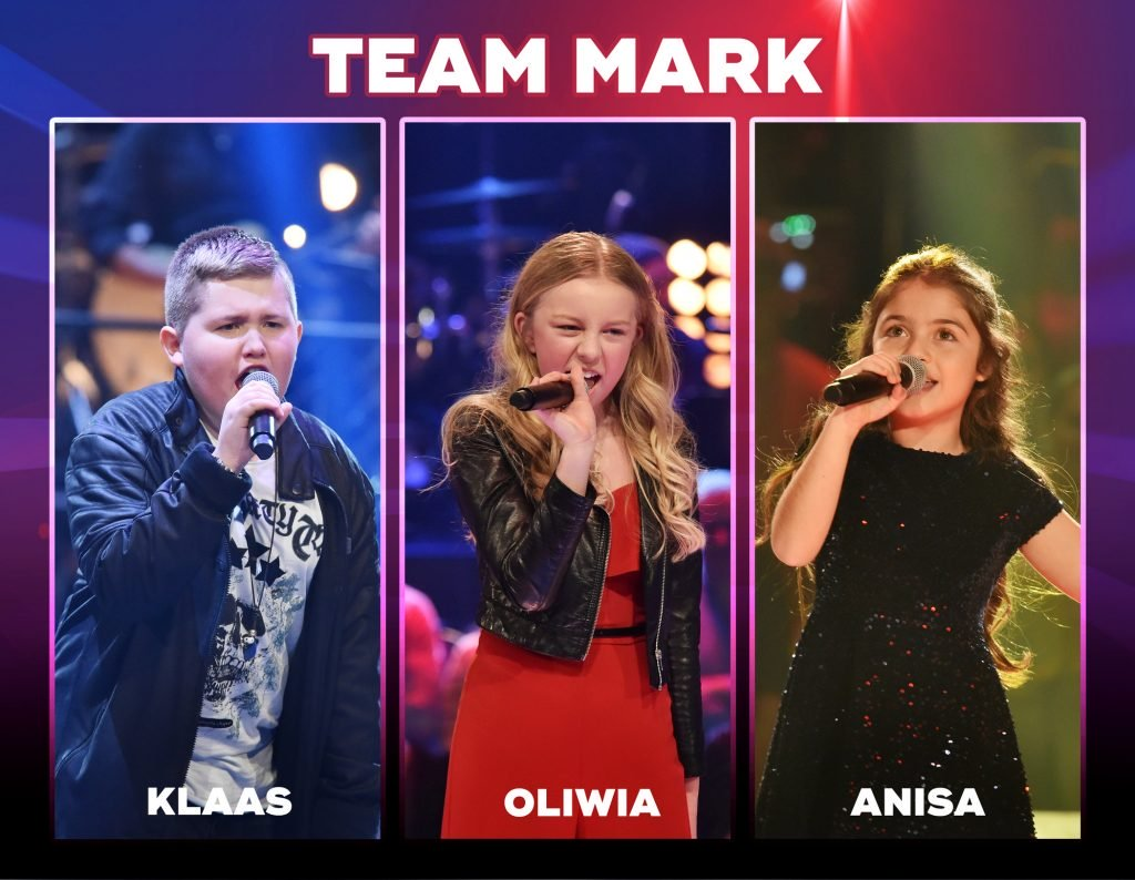 The Voice Kids 2018-Team Mark: Wer sind Anisa, Klaas & Oliwia?