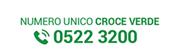 numero unico croce verde 0522 3200