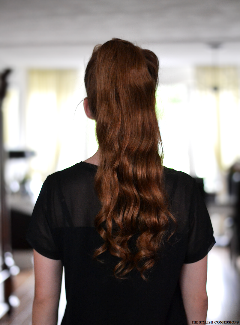 LUXURY FOR PRINCESS CLIP IN PONYTAIL