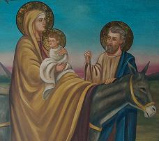 Mary and infant Jesus in Egypt. From George Church, Cairo, Egypt.