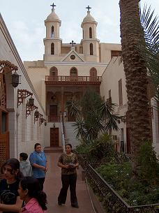 The Hanging church in Cairo, Egypt.
