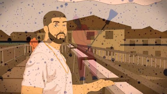 Wizkid – Ojuelegba (Remix) ft. Drake & Skepta (Fan Animated Video)