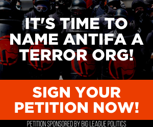 It's time to name Antifa a terror org! Sign your petition now!