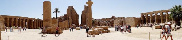 Egipt- Świątynia w Karnaku