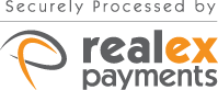 Payments securely processed by Realex