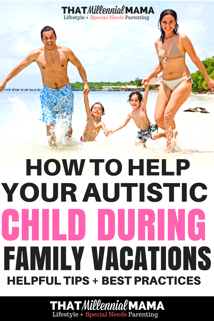 How to Help Your Autistic Child During Family Vacations